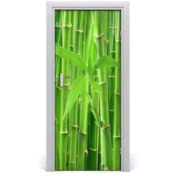 Okleina Naklejka fototapeta na drzwi Bambusowy las