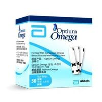 Abbott Optium omega paski testowe x 50 sztuk