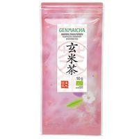 Takezawa seicha Herbata japońska organiczna genmaicha 50g -