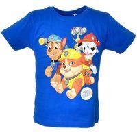 T-shirt z wizerunkiem bohaterów bajki psi patrol - kolorowy ||granatowy marki Licencja - inne