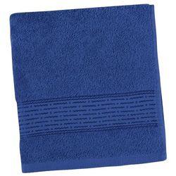ręcznik kąpielowy kamilka pasek ciemnoniebieski, 70 x 140 cm marki Bellatex