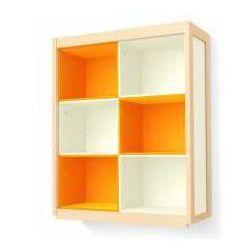 Regał-nadstawka nad kredens Simple pomarańczowa