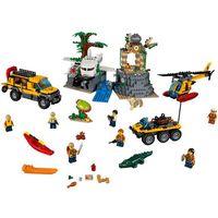 Lego CITY Baza w dżungli jungle exploration site 60161