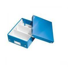 Pudło z przegródkami LEITZ C&S małe niebieskie, ES1148-1