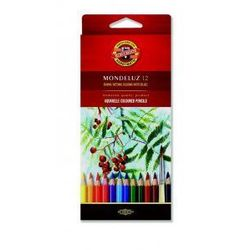 Kredki akwarelowe Koh-i-noor Mondeluz 12 kolorów 3716 - sprawdź w wybranym sklepie