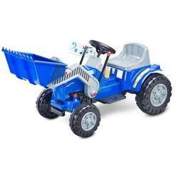 Caretero Toyz Bulldozer pojazd na akumulator niebieski ze sklepu foteliki-wozki.pl
