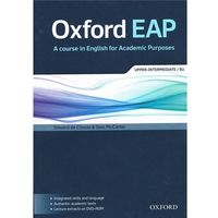 Oxford EAP (English for Academic Purposes) Student's Book with CD-ROM a Audio CD