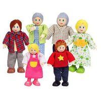 Rodzina kukiełek do zabawy dla dzieci
