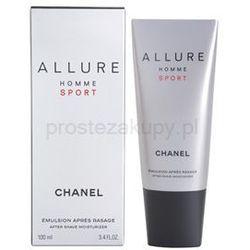 Chanel Allure Homme Sport balsam po goleniu dla mężczyzn 100 ml + do każdego zamówienia upominek. z katego