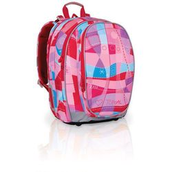 Plecak szkolny  chi 703 h - pink wyprodukowany przez Topgal