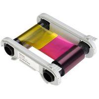 Kolorowa taśma barwiąca YMCKO do drukarek kart plastikowych Evolis Zenius/Primacy