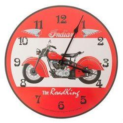 Zegar wiszący na ścianę do powieszenia motocykl marki Home