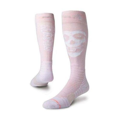 32321043c82838 Zobacz w sklepie Skarpetki - misfit snow w pink (pnk) rozmiar: m Stance