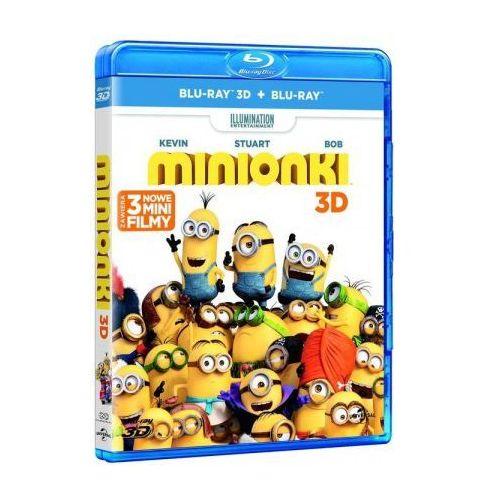 Minionki 3D (2BD)
