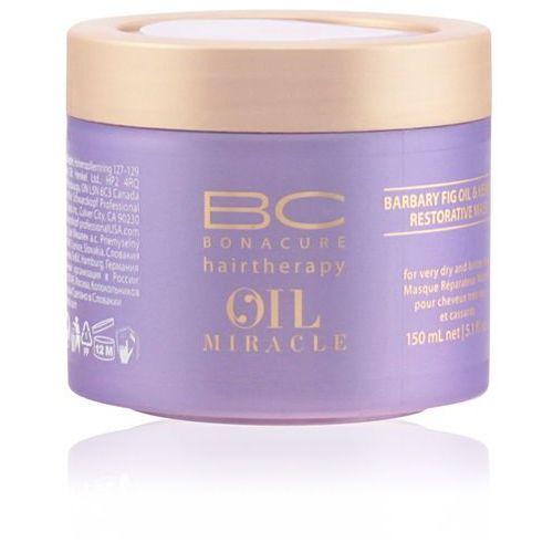 Schwarzkopf bc oil miracle barbary fig oil, maska odbudowująca, 150ml