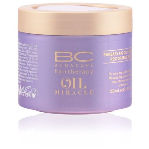 Schwarzkopf bc oil miracle barbary fig oil, maska odbudowująca, 150ml