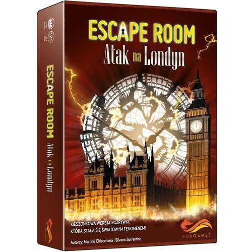 Foxgames Escape room atak na londyn gra karciana - martino chiacchiera,silvano sorrentino