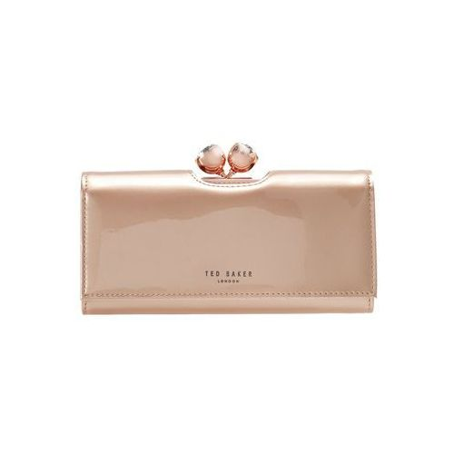 Ted Baker HONEYY TWISTED BOBBLE PATENT MATINEE Portfel rosegold