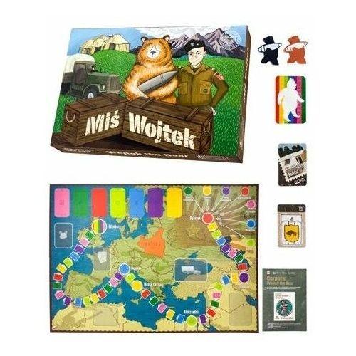Miś Wojtek. Edukacyjna gra planszowa