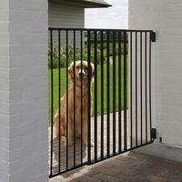 Bramka ograniczająca Savic Dog Barrier Outdoor - Wysokość 95 cm, szerokość 84 -152 cm| -5% Rabat dla nowych klientów| Dostawa GRATIS + promocje