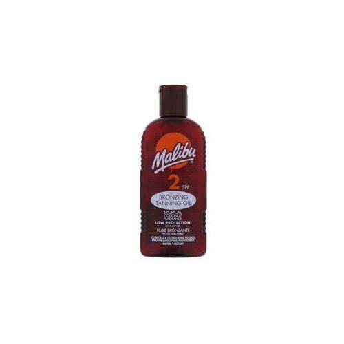 Malibu Bronzing Tanning Oil SPF2 preparat do opalania ciała 200 ml dla kobiet - Ekstra oferta
