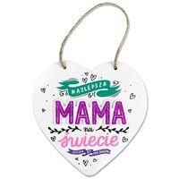 Serce zawieszka Mama La viva