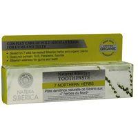 - naturalna syberyjska pasta do zębów na krwawiące dziąsła - 7 północnych ziół marki Natura siberica