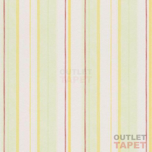 Rasch Tapeta ścienna w paski piccolo 271522 pokój dziecięcy