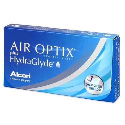 Air Optix plus HydraGlyde (3 soczewki)