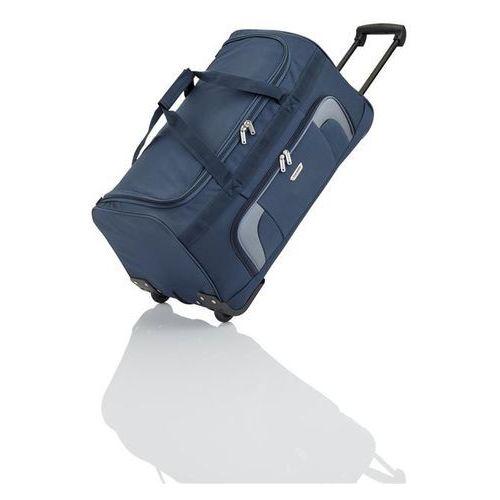 orlando torba podróżna na kółkach 73l marine 2-koła - granatowy marki Travelite