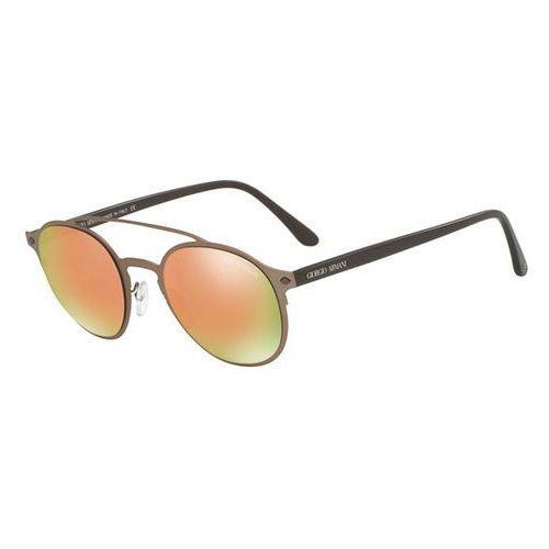 Giorgio armani Okulary słoneczne ar6041 frames of life 30064z