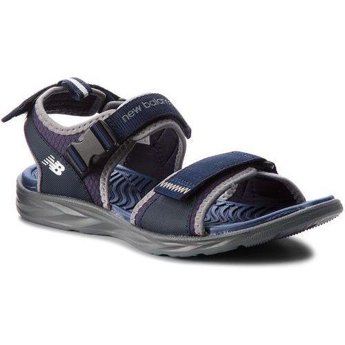 Sandały NEW BALANCE - M2067NV Granatowy, kolor niebieski