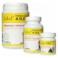 dolvit fosforan wapnia ad3e preparat witaminowo-mineralny dla psów op.90tabl.-1kg marki Dolfos
