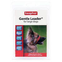 Beaphar gentle leader - obroża uzdowa - kolor czerwony rozmiar l