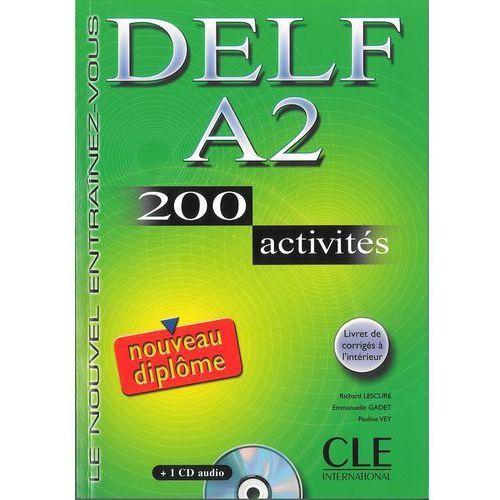 DELF A2 200 Activities livre z CD (2006)