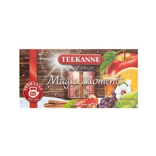 Teekanne 20x2,5g world of fruits magic moments herbata owocowa