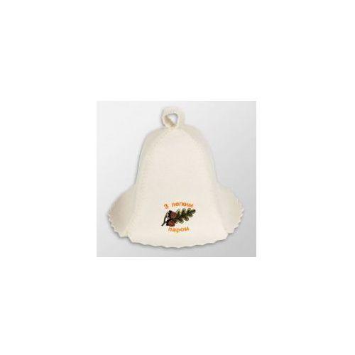 Czapka biała do sauny - Z lekkim parom, 99E8-3718A