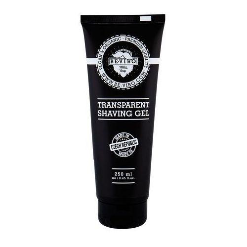 Be-Viro Men´s Only Transparent Shaving Gel żel do golenia 250 ml dla mężczyzn - Ekstra oferta