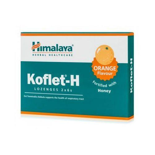 Tabletki Himalaya Koflet-H pastylki na kaszel smak pomarańczowy 12 tabletek