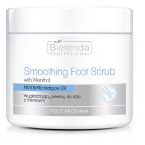 Bielenda professional smoothing foot scrub with mentol wygładzający peeling do stóp z mentolem - Świetna promocja