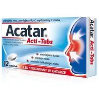 Tabletki ACATAR ActiTabs x 12 tabletek