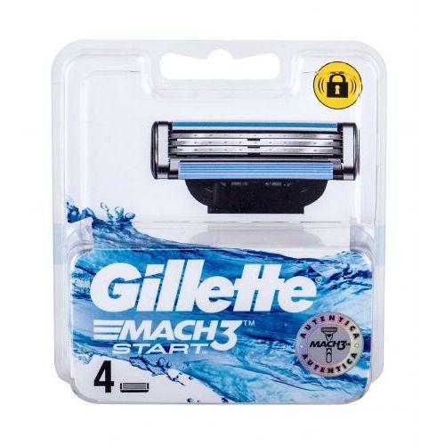 Gillette mach3 start wkład do maszynki 4 szt dla mężczyzn - Rewelacyjny rabat