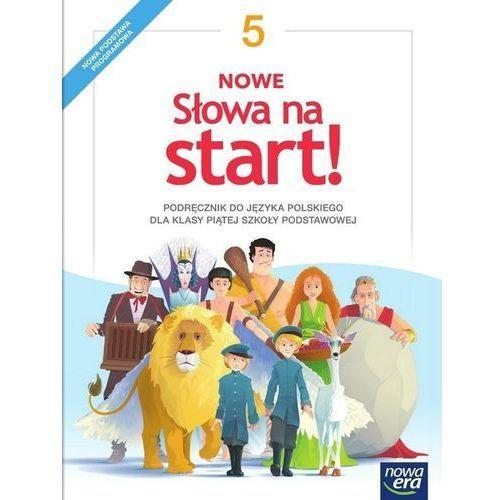 Nowe Słowa na start!. Klasa 5. Podręcznik. Szkoła podstawowa, oprawa miękka
