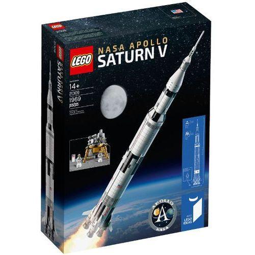 Lego IDEAS Rakieta nasa apollo saturn v 21309