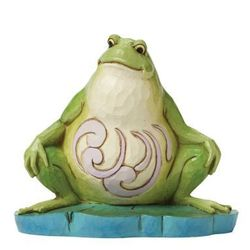 Żaba, (i eat what bugs me), zwierzęta, 4047081 figurka ozdoba świąteczna marki Jim shore