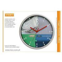 Zegar reklamowy 12' srebrny /305mm, kolor Zegar