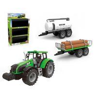 Traktor z 2 przyczepami marki Askato