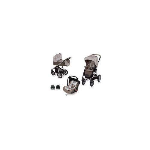 Wózek wielofunkcyjny Dotty 3w1 + Leo Baby Design (beżowy)