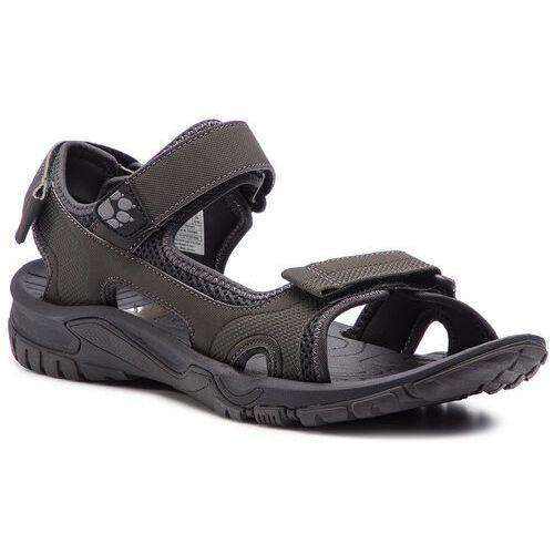 Sandały - lakewood cruise sandal m 409011 phantom marki Jack wolfskin