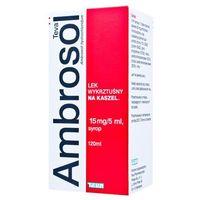 Syrop AMBROSOL 0,15 syrop 120ml